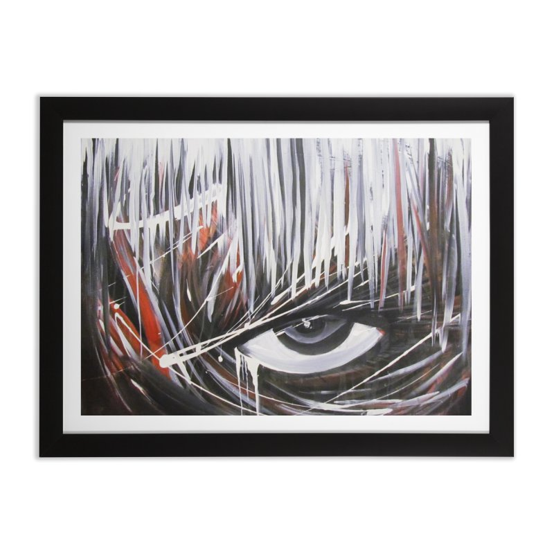 Secret Home Framed Fine Art Print by Art By Poli