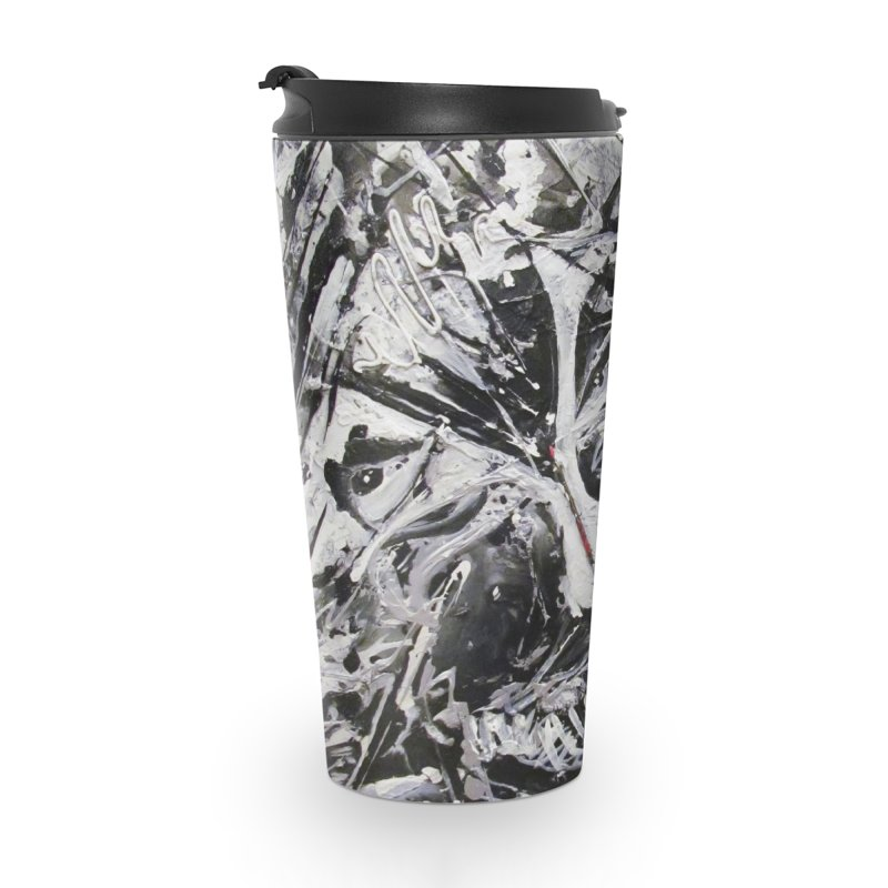 Skeletons in the Closet Accessories Travel Mug by Art By Poli