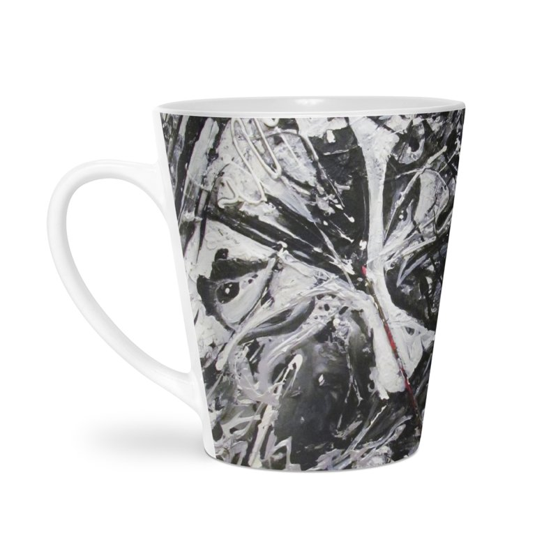 Skeletons in the Closet Accessories Latte Mug by Art By Poli