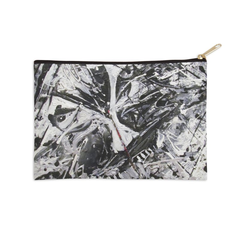 Skeletons in the Closet Accessories Zip Pouch by Art By Poli