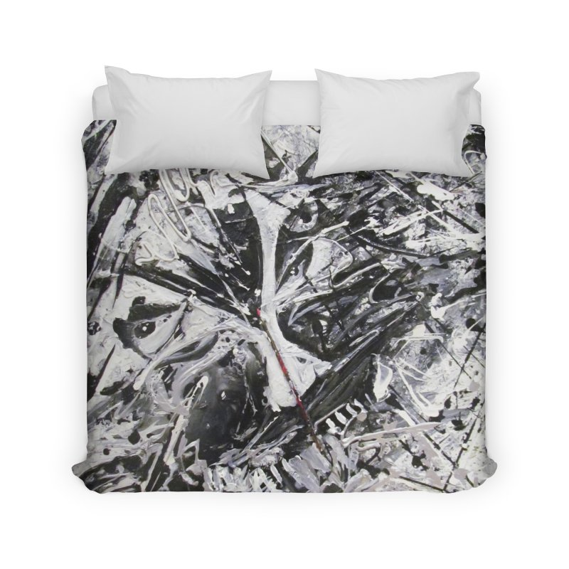 Skeletons in the Closet Home Duvet by Art By Poli