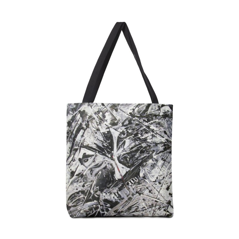 Skeletons in the Closet Accessories Tote Bag Bag by Art By Poli