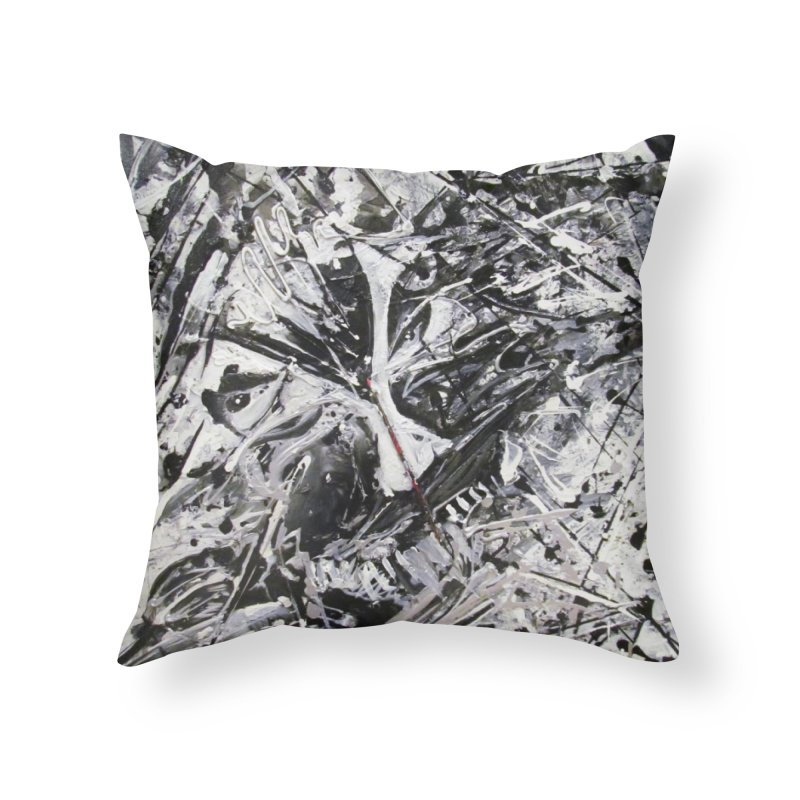 Skeletons in the Closet Home Throw Pillow by Art By Poli
