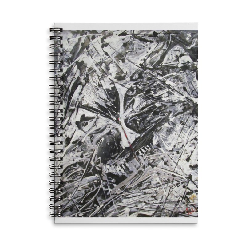 Skeletons in the Closet Accessories Lined Spiral Notebook by Art By Poli