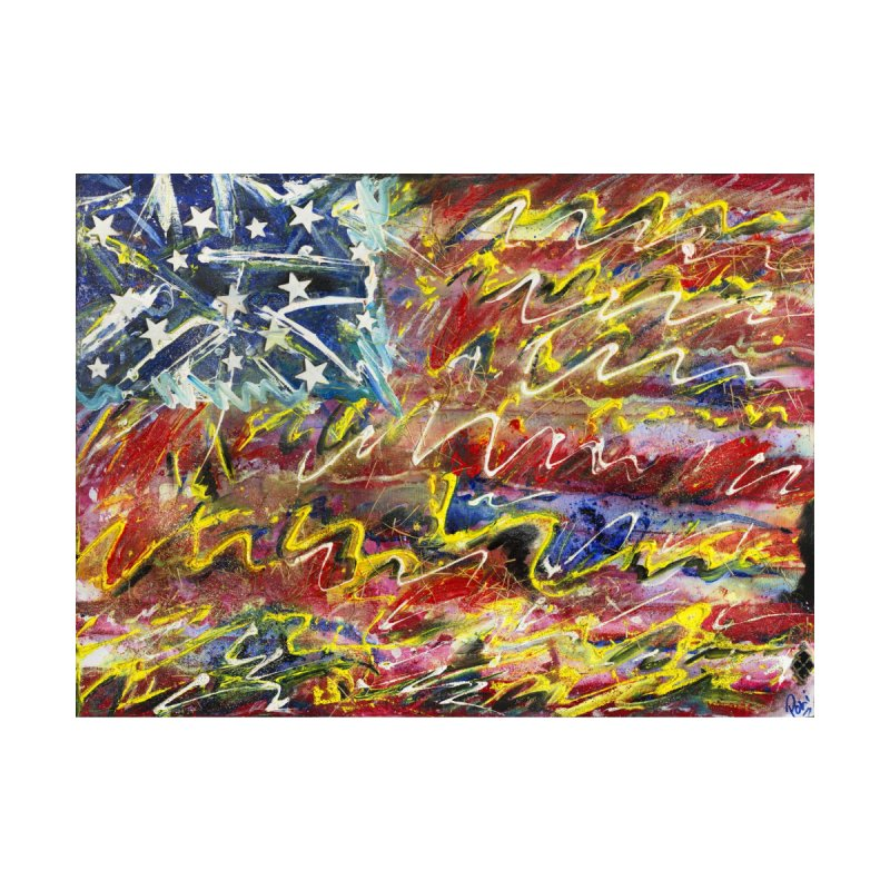 Stars & Stripes Forever by Art By Poli