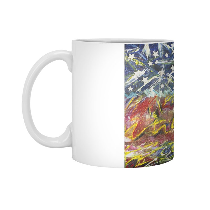 Stars & Stripes Forever Accessories Standard Mug by Art By Poli