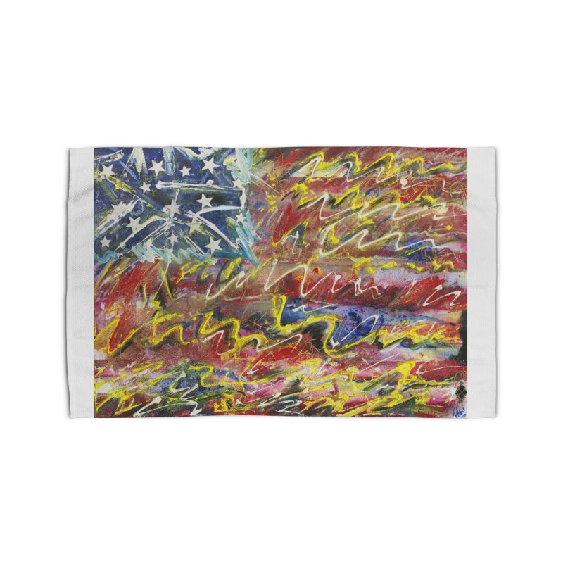 Stars & Stripes Forever Home Rug by Art By Poli
