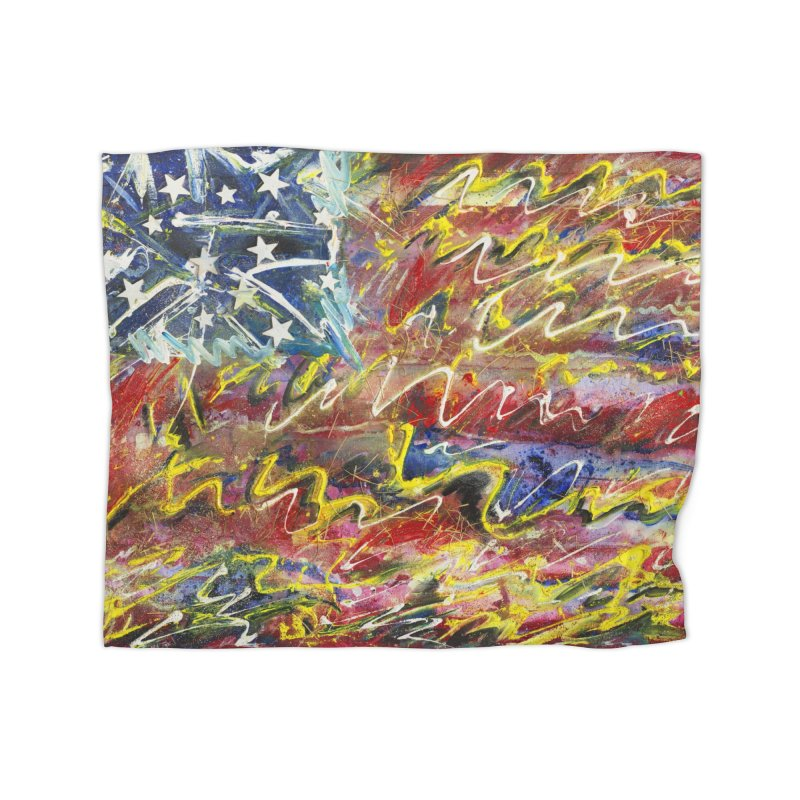 Stars & Stripes Forever Home Blanket by Art By Poli