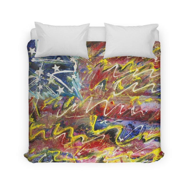 Stars & Stripes Forever Home Duvet by Art By Poli