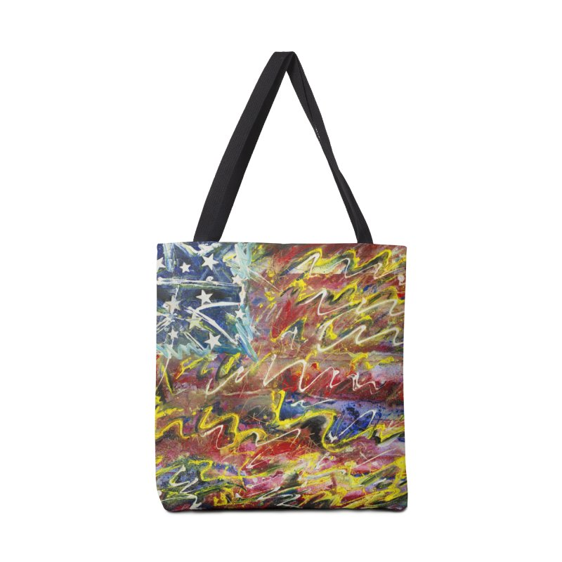 Stars & Stripes Forever Accessories Tote Bag Bag by Art By Poli
