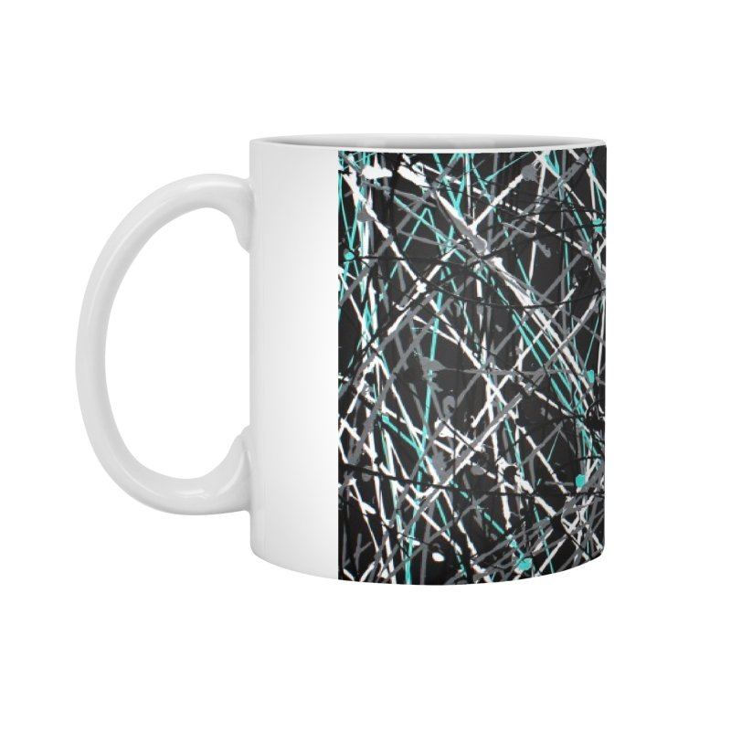 Black Equality Accessories Standard Mug by Art By Poli