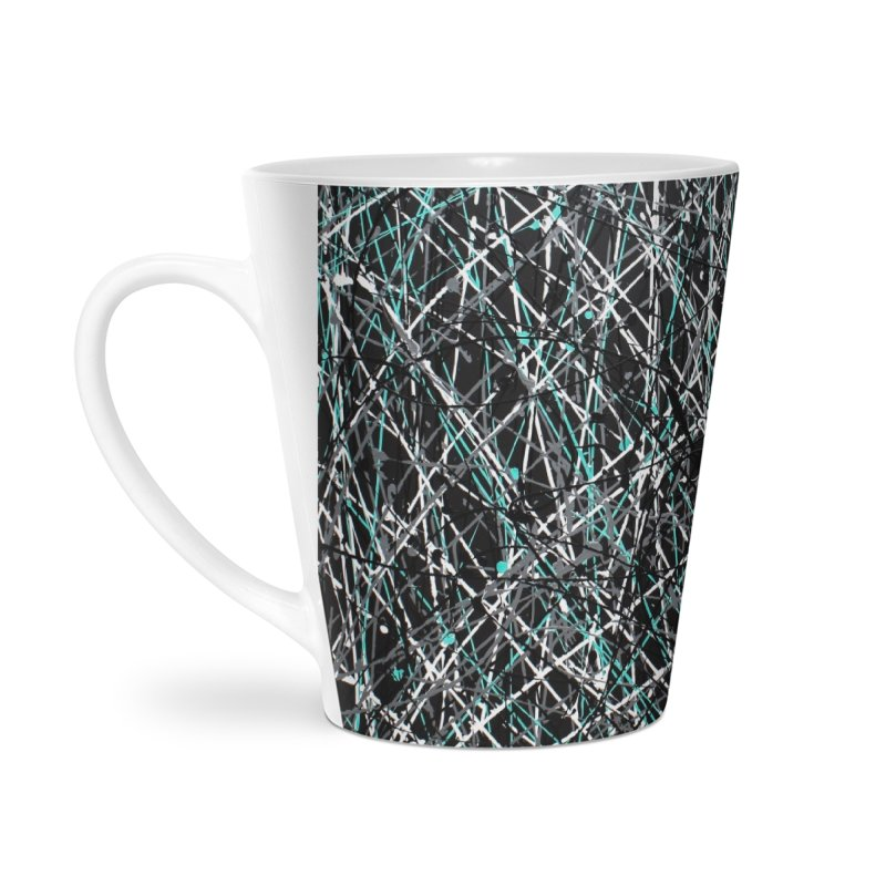 Black Equality Accessories Latte Mug by Art By Poli