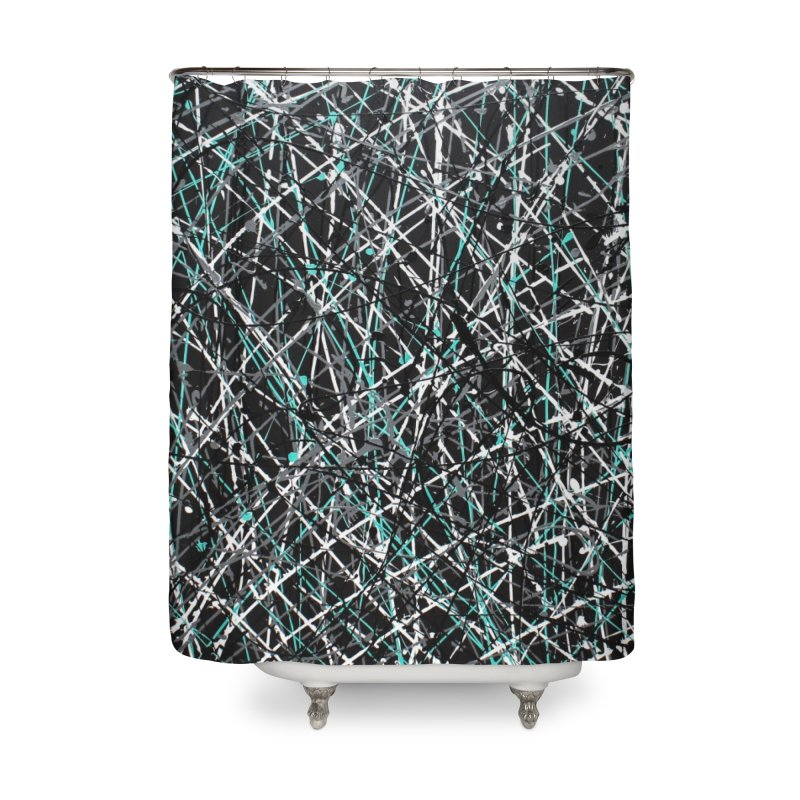 Black Equality Home Shower Curtain by Art By Poli
