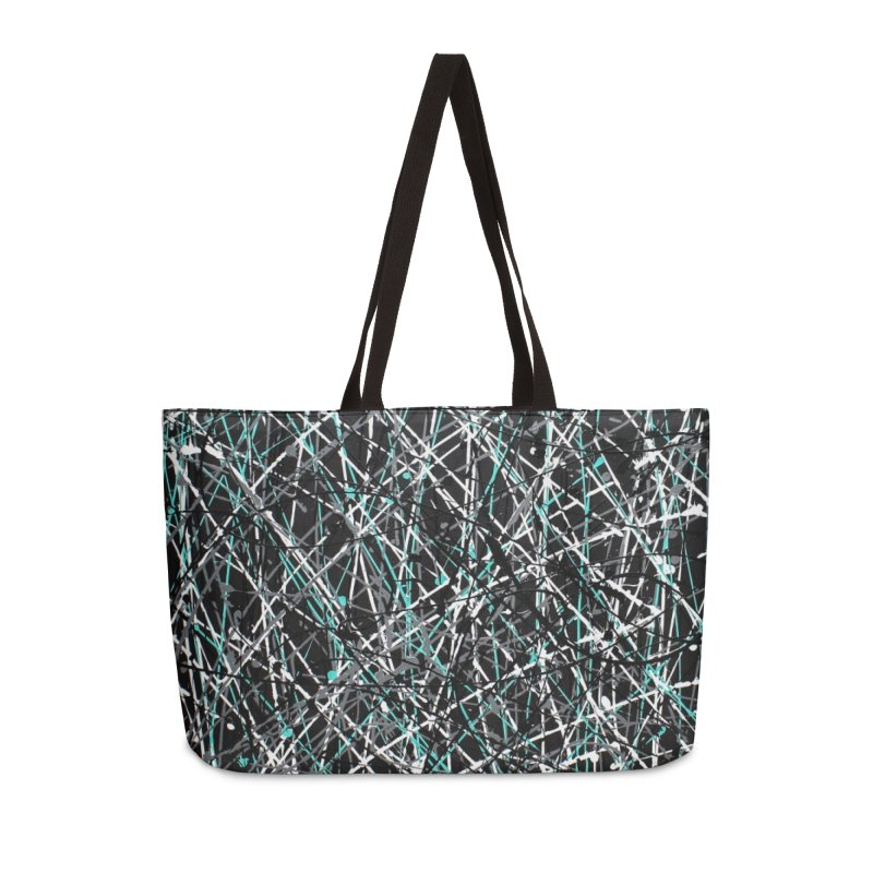 Black Equality Accessories Weekender Bag Bag by Art By Poli