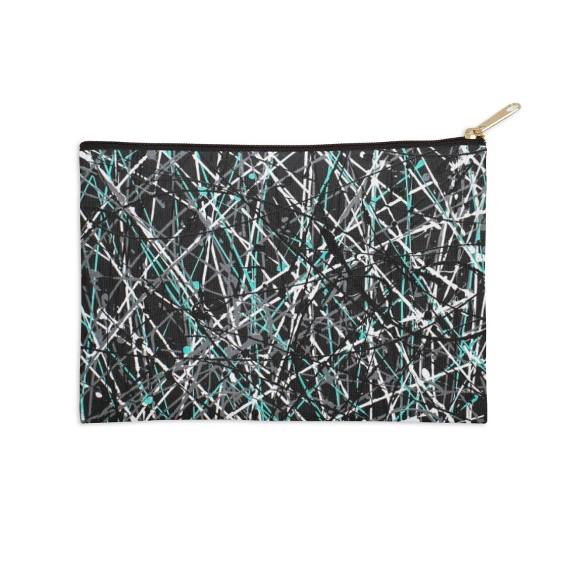 Black Equality Accessories Zip Pouch by Art By Poli