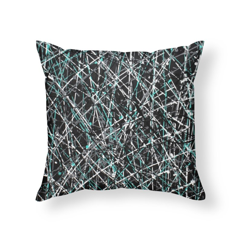 Black Equality Home Throw Pillow by Art By Poli
