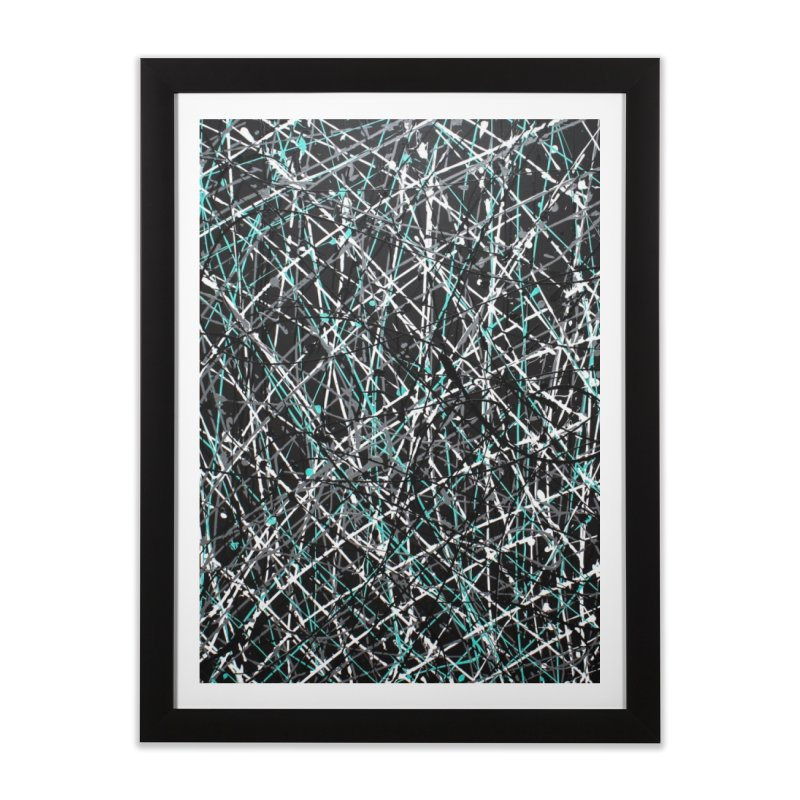 Black Equality Home Framed Fine Art Print by Art By Poli
