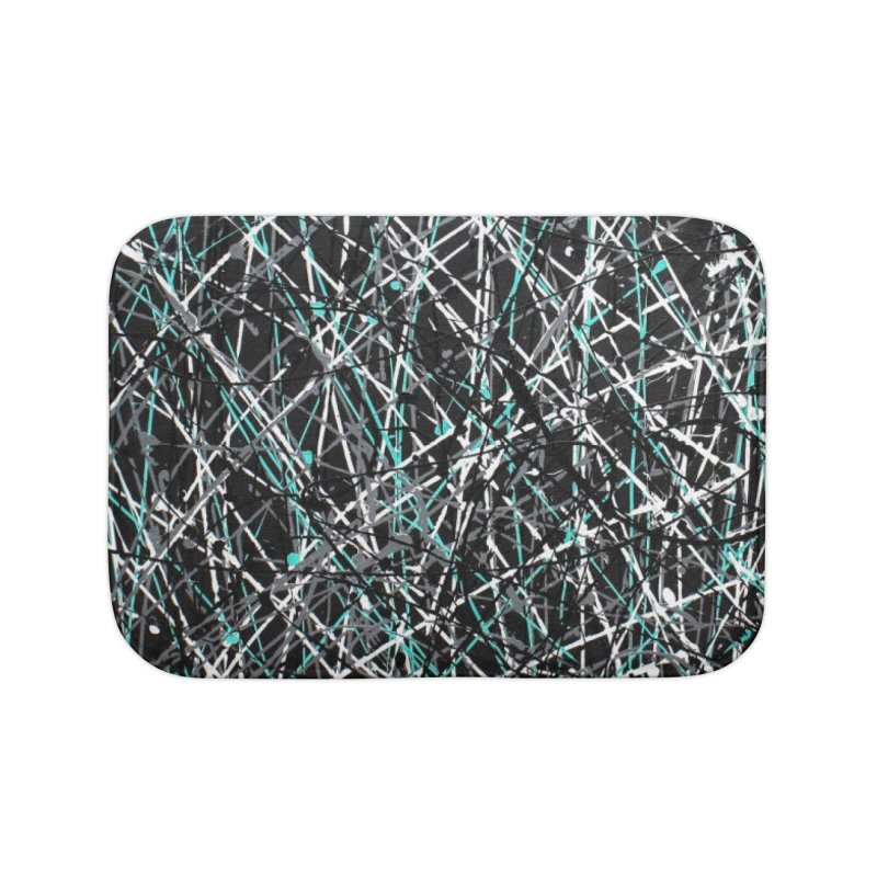 Black Equality Home Bath Mat by Art By Poli