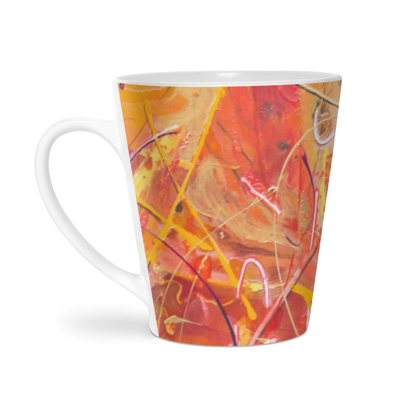 Harvest Accessories Latte Mug by Art By Poli