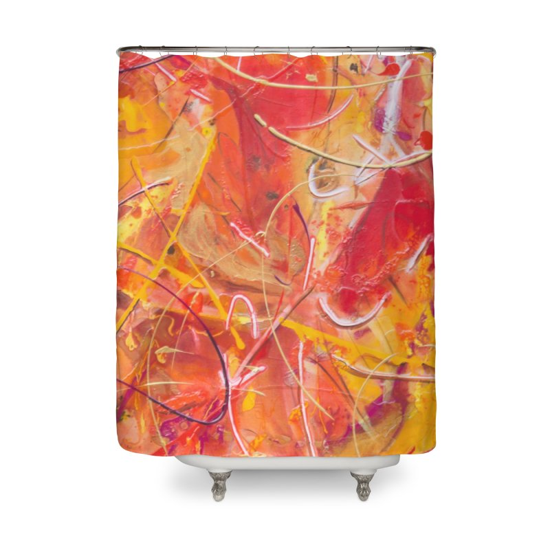 Harvest Home Shower Curtain by Art By Poli