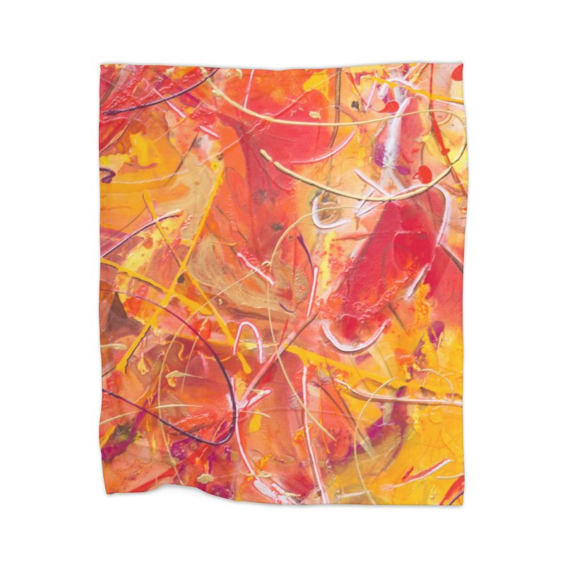 Harvest Home Blanket by Art By Poli