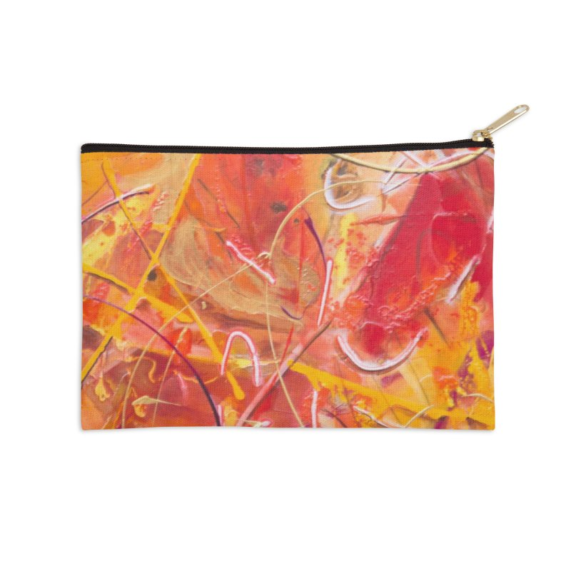 Harvest Accessories Zip Pouch by Art By Poli