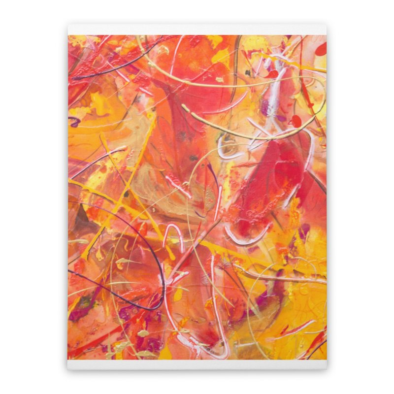 Harvest Home Stretched Canvas by Art By Poli