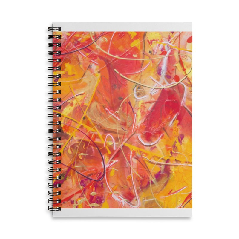 Harvest Accessories Lined Spiral Notebook by Art By Poli