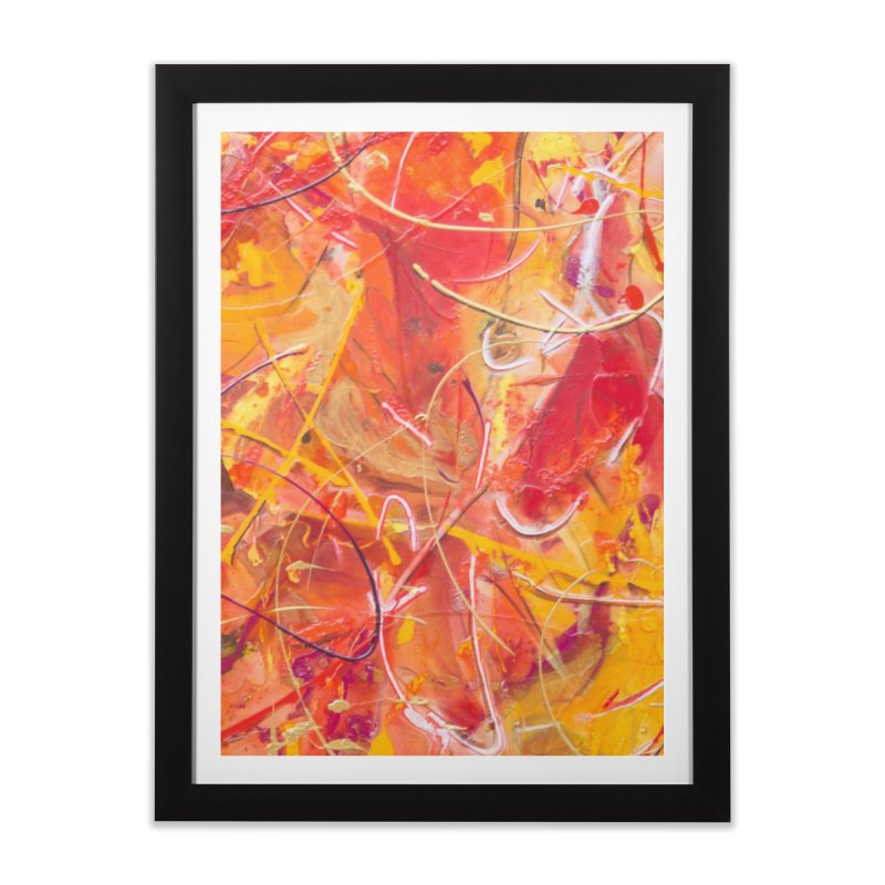 Harvest Home Framed Fine Art Print by Art By Poli