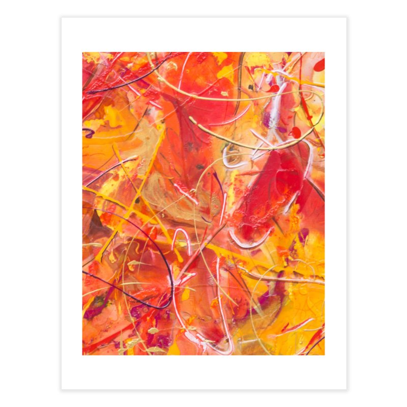Harvest Home Fine Art Print by Art By Poli