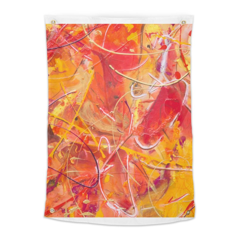 Harvest Home Tapestry by Art By Poli