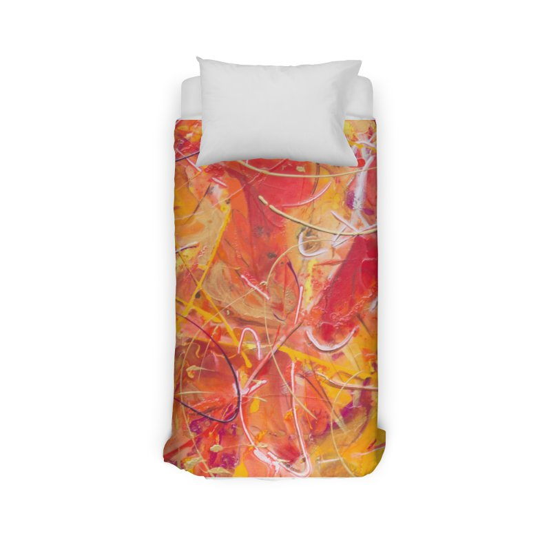 Harvest Home Duvet by Art By Poli