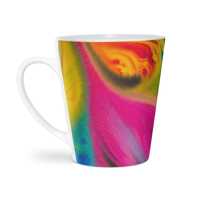 Evolution Accessories Latte Mug by Art By Poli