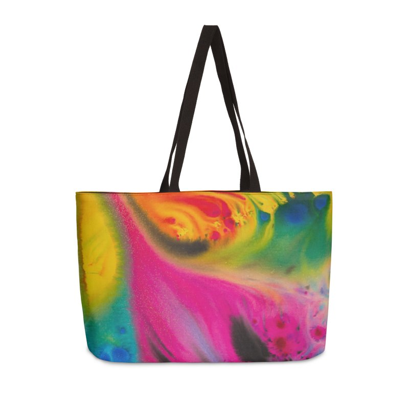 Evolution Accessories Weekender Bag Bag by Art By Poli