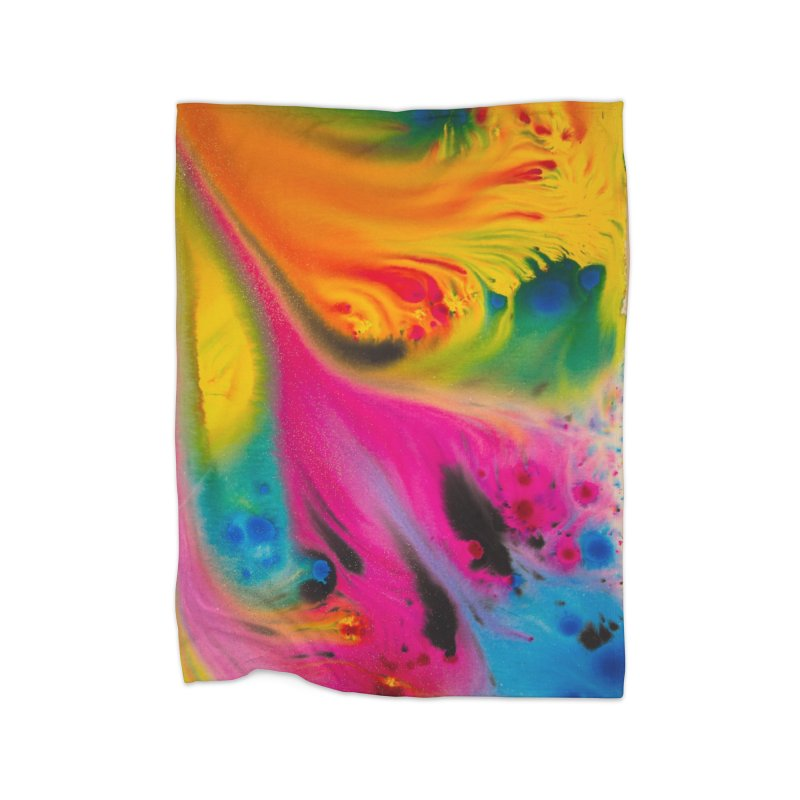 Evolution Home Blanket by Art By Poli
