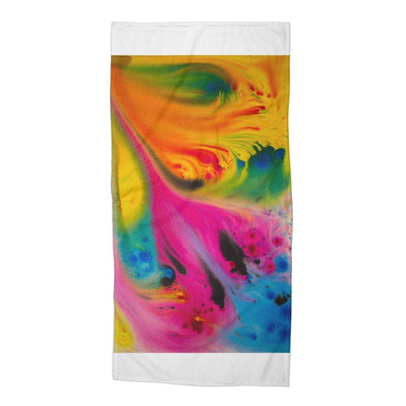 Evolution Accessories Beach Towel by Art By Poli