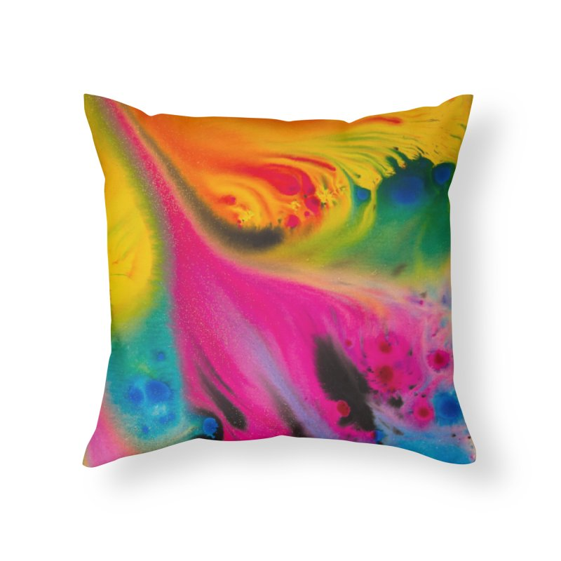 Evolution Home Throw Pillow by Art By Poli