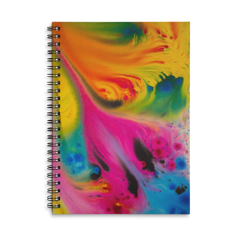 Evolution Accessories Lined Spiral Notebook by Art By Poli