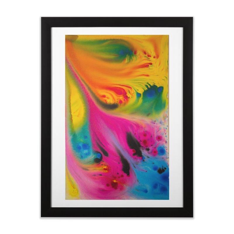Evolution Home Framed Fine Art Print by Art By Poli