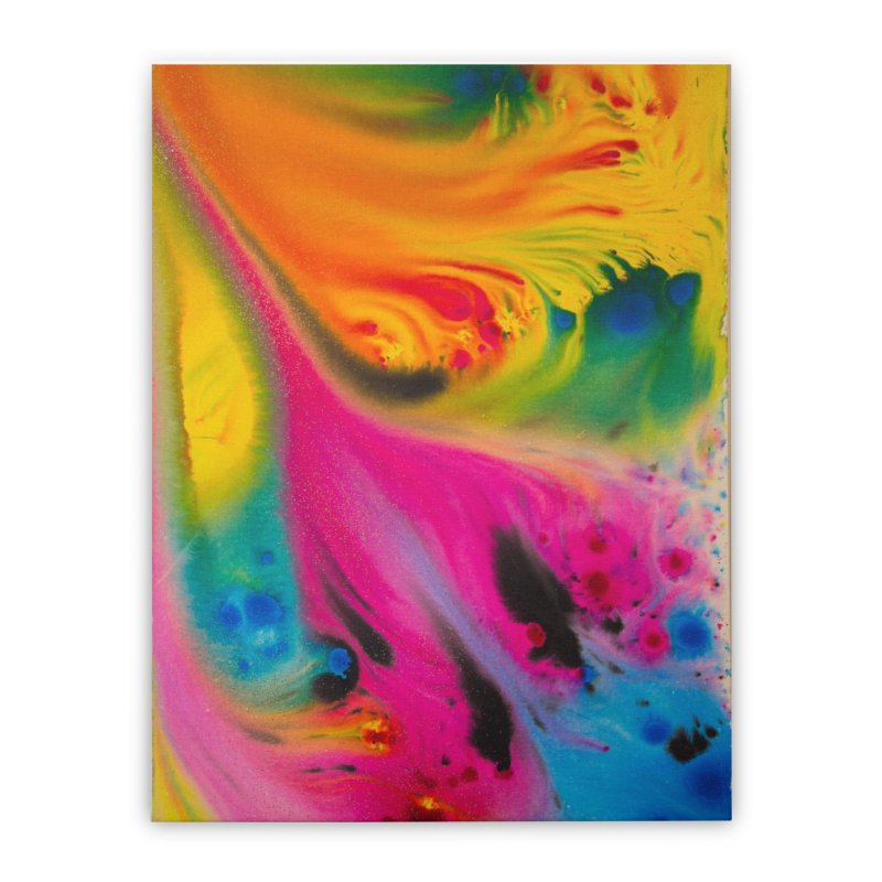 Evolution Home Stretched Canvas by Art By Poli