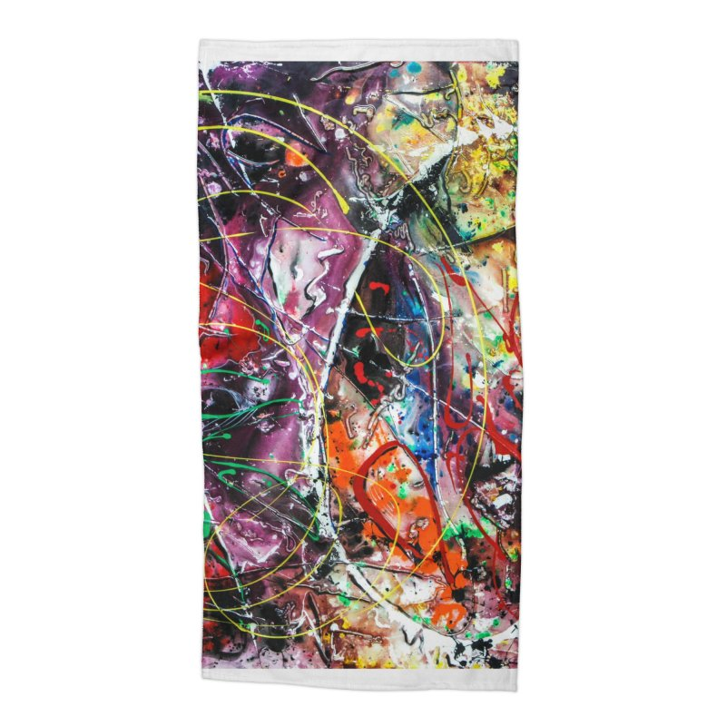 Astronomy Accessories Beach Towel by Art By Poli