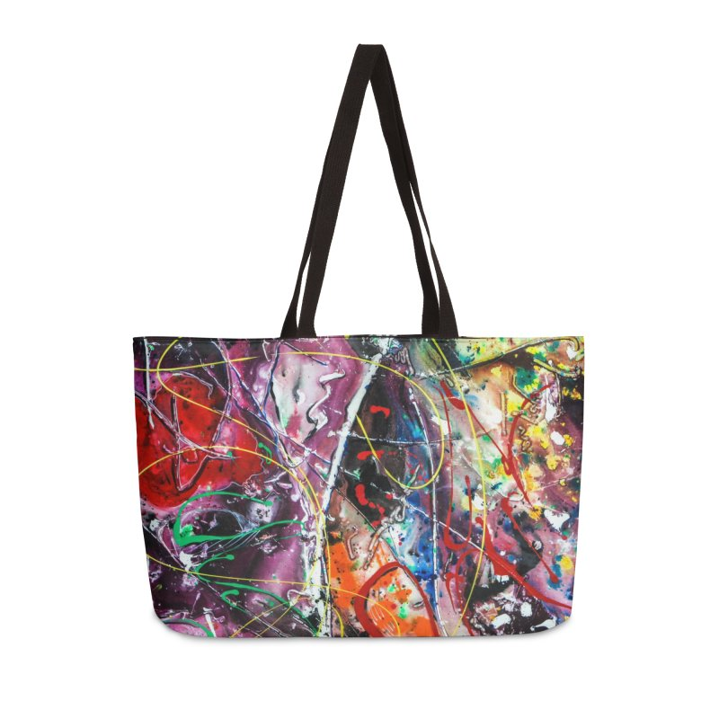 Astronomy Accessories Weekender Bag Bag by Art By Poli