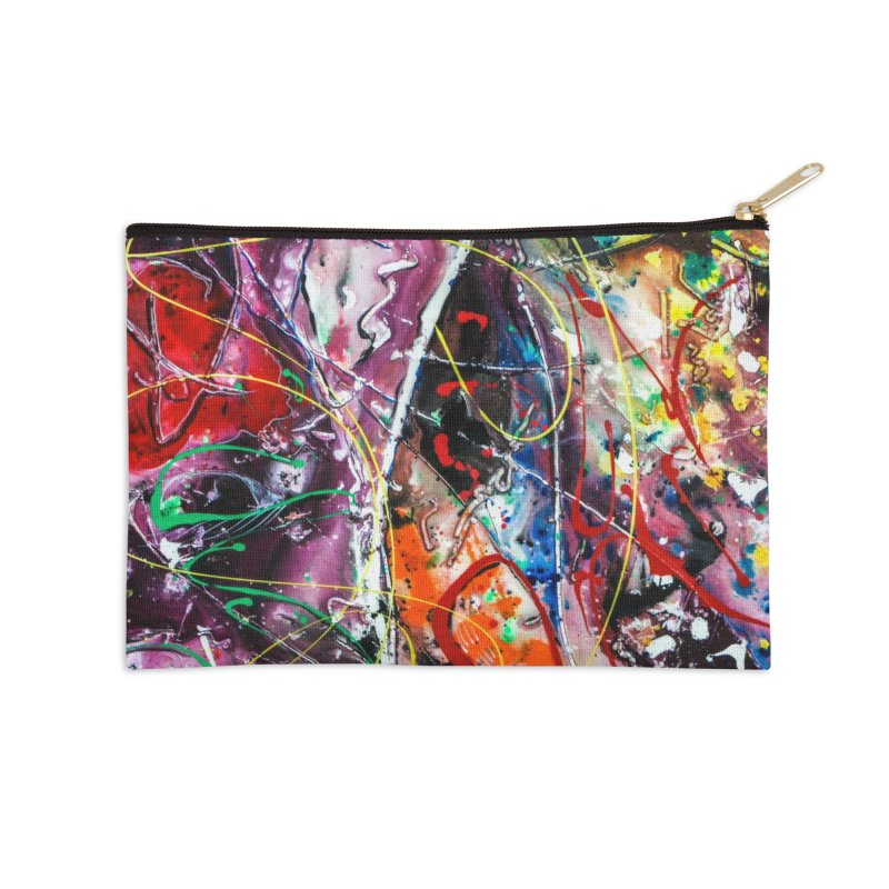 Astronomy Accessories Zip Pouch by Art By Poli