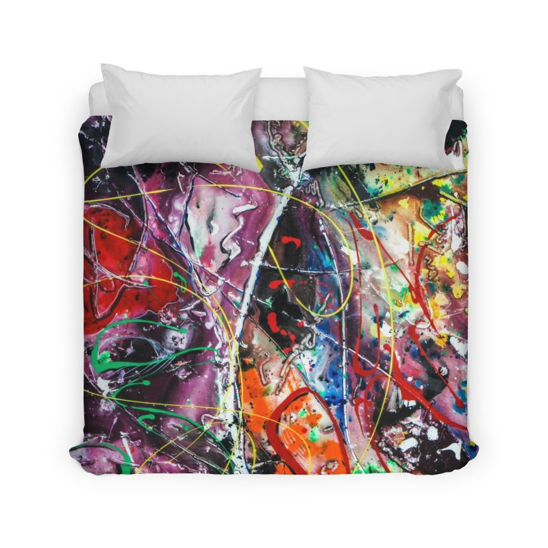 Astronomy Home Duvet by Art By Poli