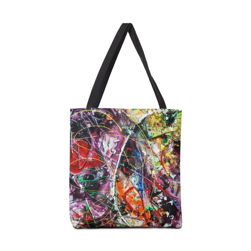 Astronomy Accessories Tote Bag Bag by Art By Poli