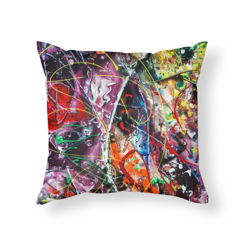 Astronomy Home Throw Pillow by Art By Poli