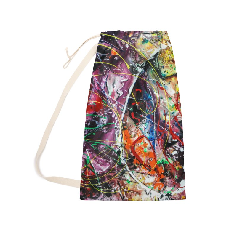 Astronomy Accessories Laundry Bag Bag by Art By Poli