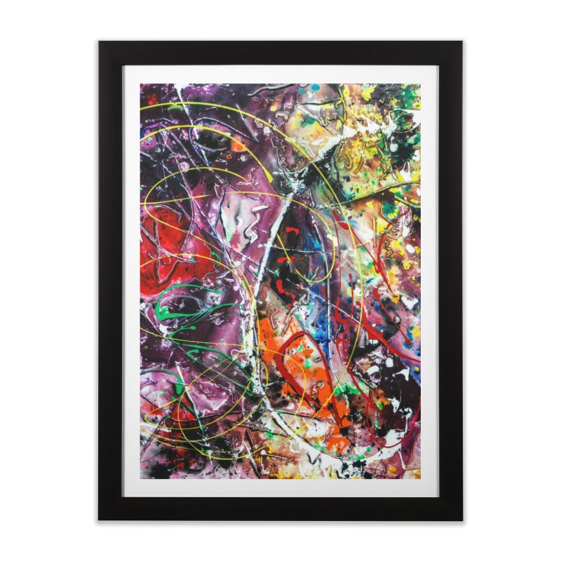Astronomy Home Framed Fine Art Print by Art By Poli
