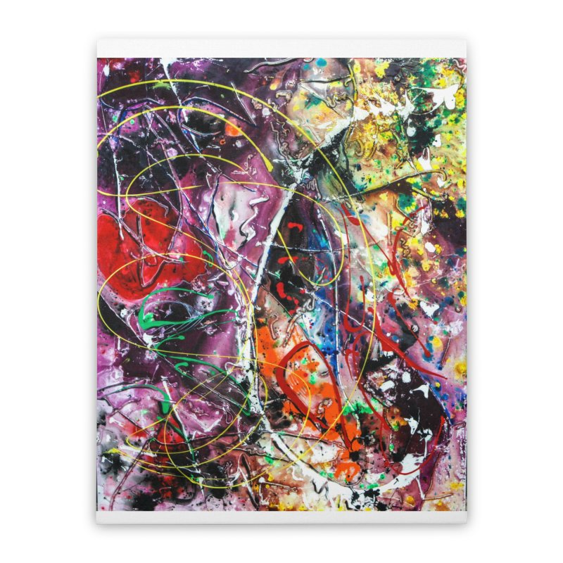 Astronomy Home Stretched Canvas by Art By Poli