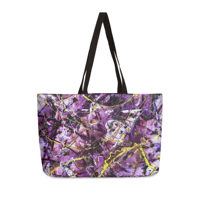Lavender Love Accessories Weekender Bag Bag by Art By Poli